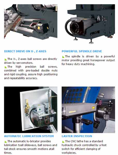 Slant Bed CNC TEACH-IN Lathe TS45-ARIX Co