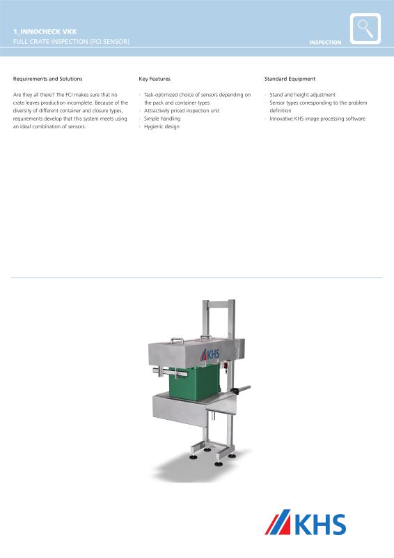 Khs filling and packaging worldwide khs gmbh innocheck vkk full crate inspector pdf ccuart Gallery